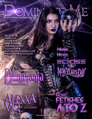 Dominate Me Magazine Halloween Issue