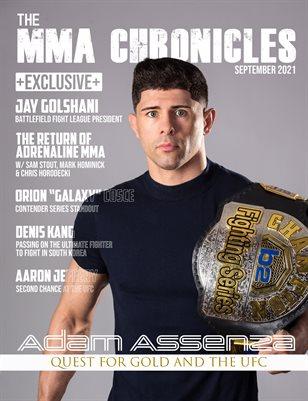 The MMA Chronicles - Volume 3 - September 2021