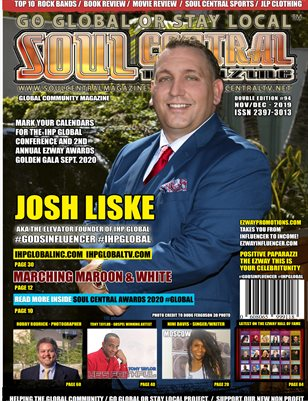 Soul Central Magazine Josh Liske #Edition #94