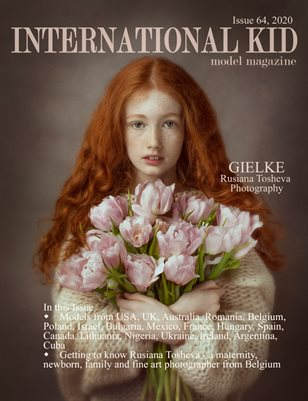 International Kid Model Magazine Issue 64