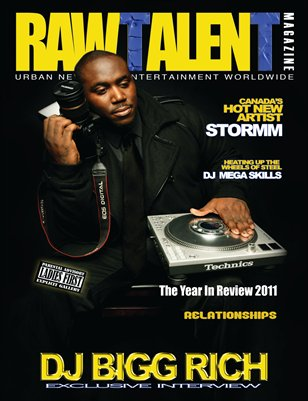 Raw Talent Magazine Issue #6