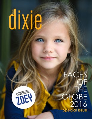 Dixie Magazine Faces of The Globe 2016 Special Issue