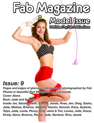 Fab Magazine Model Issue 9
