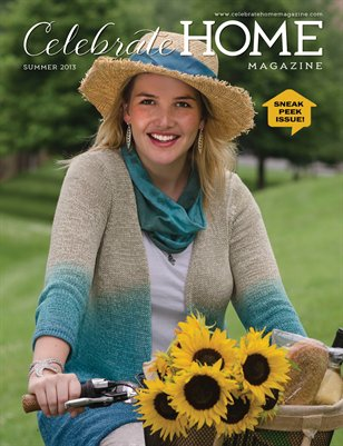 Celebrate Home Magazine, Six Summer Sips (EXCERPT)