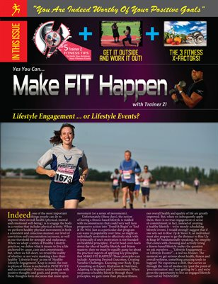 Trainer Z - Make Fit Happen - Fitness Newsletter 2019