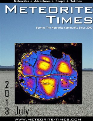 Meteorite Times Magazine - July 2013