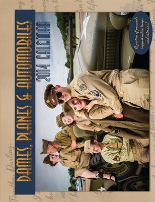 Dames Planes & Automobiles 2014 WWII Calendar
