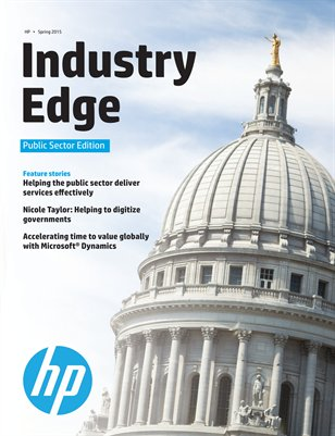 HP Industry Edge: Public Sector Edition