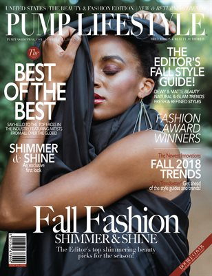PUMP Lifestyle - The Beauty & Fashion Edition | November 2018 | V.VII