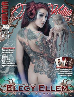 Kultur Magazine TATTOO Special - TATTOO Kultur VOL 3