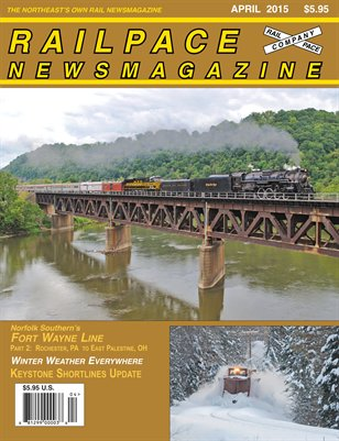 APRIL 2015 Railpace Newsmagazine