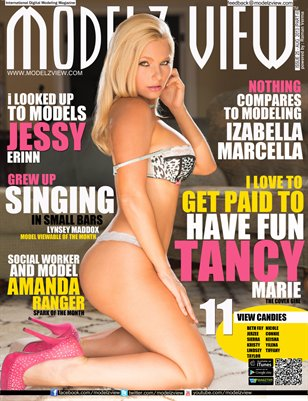 MODELZ VIEW MAGAZINE AUGUST 2013 - PART 2 - COVER GIRL TANCY MARIE