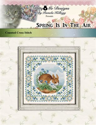 Spring Is In The Air Cross Stitch Pattern