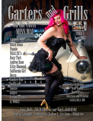 Garters and Grills Magazine Issue 1