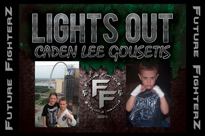 LIGHTS OUT Caden Lee Gousetis Poster