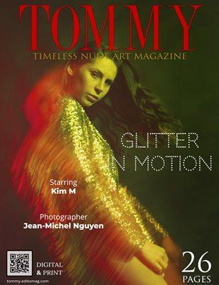Kim M - Glitter in motion - Jean-Michel Nguyen
