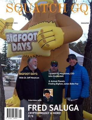 Squatch GQ Magazine Feb 2021