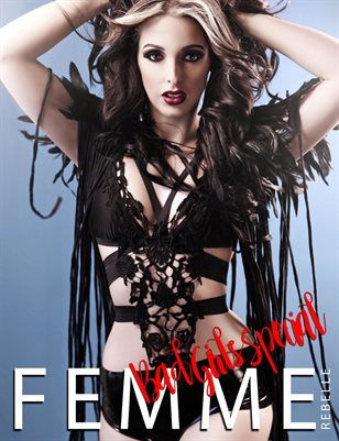 Femme Rebelle Magazine BAD GIRLS SPECIAL - May 2017 MyBoudoir Cover