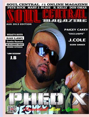 Soul Central Magazine August Edition