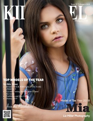 Kid Model magazine Top Model of the Year Issue 11 Volume 6 2018