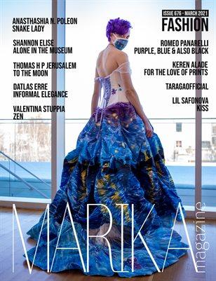 MARIKA MAGAZINE FASHION (MARCH-ISSUE 676)