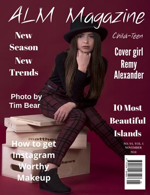 "ALM Child-Teen Magazine, Issue 94, Vol.4 ""Top Models of October"", November 2018"