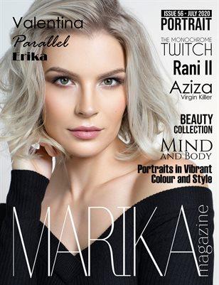 MARIKA MAGAZINE PORTRAIT (July - issue 56)