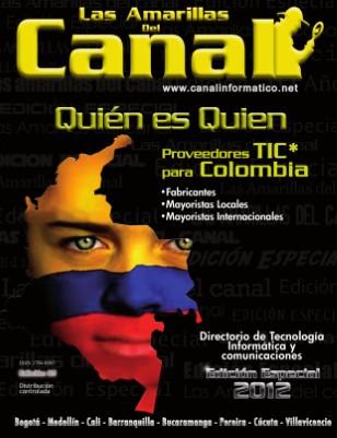 Amarillas del Canal Colombia 2012