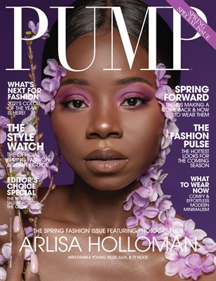 PUMP Magazine The Fashion Pulse Edition Vol.2 March 2021