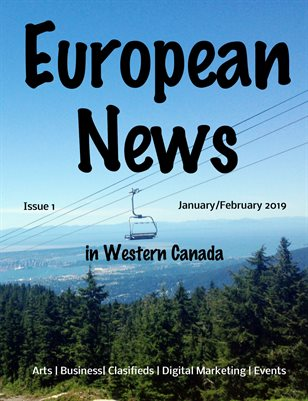 European News Magazine - Issue 1