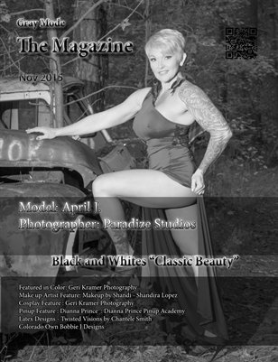 """Black and Whites """"Classic Beauty"""" April"""