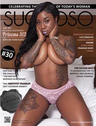 Succoso Magazine Issue #30 featuring Cover Model Princess 312