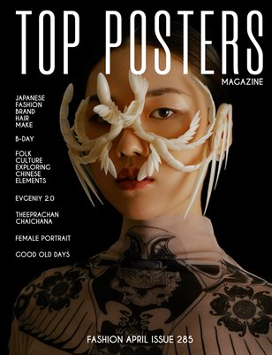 TOP POSTERS MAGAZINE - FASHION APRIL (Vol 285)