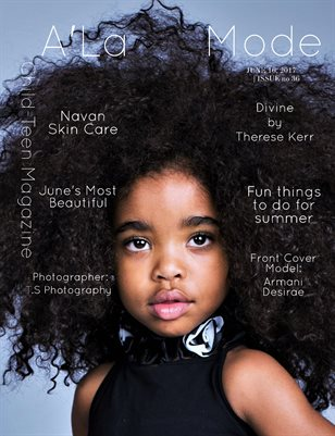 "A'La Mode Child-Teen Magazine Issue #36, ""June's Most Beautiful"""