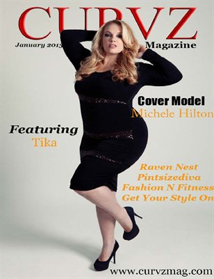 Curvz Magazine January 2013 issue