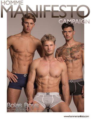 Homme Manifesto Campaign: Bolas