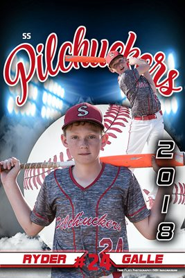 2018 Pilchuckers #24 Ryder Blue poster
