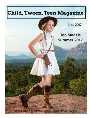 Child, Tween, Teen Magazine, Top Models of Summer