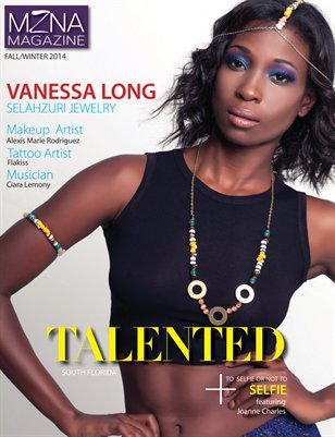 MZNA Magazine Fall/Winter 2014 Talented