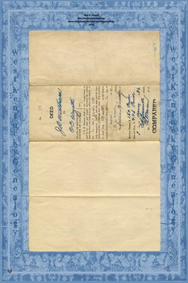 (PAGES 1-2) 1936 Deed, J.A. Westbrook to C.C. Wyatt, Graves County, Kentucky