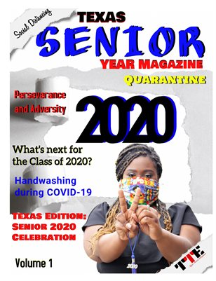 Texas Senior Year Magazine 2020