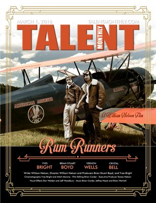 Talent Monthly Magazine - Rum Runners