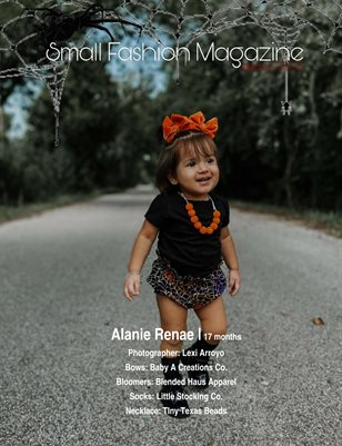 Small Fashion Magazine Special Halloween Edition