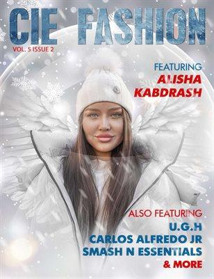 CIE Fashion Magazine Featuring Alisha Kabdrash