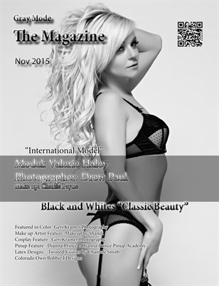 """Black and Whites """"Classic Beauty"""" Valerie"""