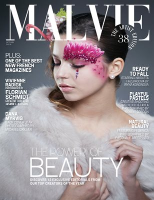 MALVIE Mag The Artist Edition Vol 38 October 2020