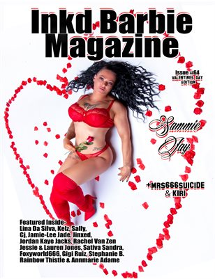 Inkd Barbie - VDAY ISSUE #64 - Sammie Jay
