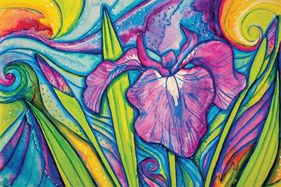 Wild Alaskan Iris