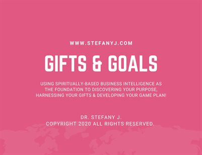 Gifts & Goals Workbook