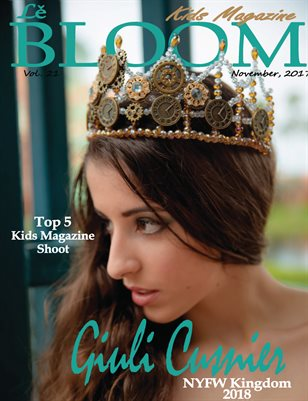 Le Bloom Kids Magazine Giuli Cusmier